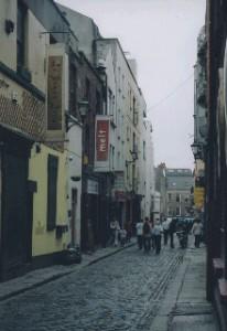 Street scenes in Dublin