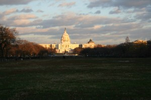 The Capitol at sunrise