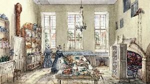 A Victorian Era Kitchen